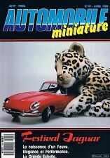 Automobile Miniature   N°47   avr 1988: Festival jaguar