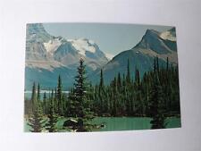 MALIGNE LAKE PRE STAMPED POSTCARD JASPER NATIONAL PARK ALBERTA CANADA POST