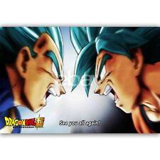 New Custom Goku Limit Breaker Dragon Ball Super Silk Poster Wall Decor