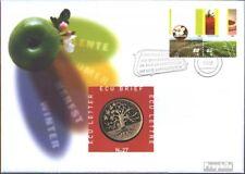 Netherlands 1644-1645 on numismatic number.27 with ECU-Mint FDC 1998 ECU-Münzbri