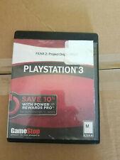 F.E.A.R. 2: Project Origin FEAR 2 Sony PlayStation 3 PS3