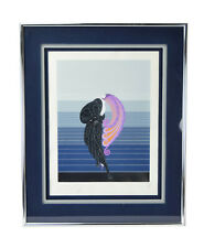 """Erte """"Beauty and the Beast"""" Serigraph Double Signed Personally Dedicated"""