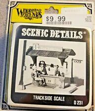 Woodland Scenics Trackside Scale  D 231