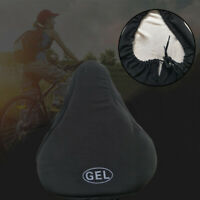 Extra Soft Bike Comfort Gel Pad Comfy Saddle Cushion Seat Cover Bicycle Cycle UK