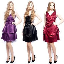 Vestido de Boda venta Damas Vestido de dama de honor Baile de graduación Fiesta Vestido Correas Satinado Sparkle