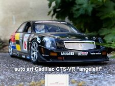 "Auto-Art Cadillac CTS-VR No 16 2004 "" Angelelli ""scale 1/18 serial no 2863/6000"