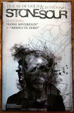 STONE SOUR House Of Gold & Bones Pt 1 Ltd Ed Discontinued RARE Poster! Hydrograd