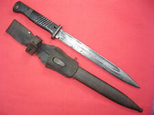 K98 BAYONET Mauser Eastern front Set Nice with SCABBARD and Frog 1938 WW2 WWII