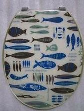 Loo with a View - Fish in the water Poly Resin Decor Toilet Seat, EU120