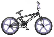 "Rooster Big Daddy Kids 20"" Skyway 5 Spoke Lavender Mag Wheels BMX Bike Gyro RS54"