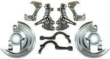 "2"" DROP SPINDLES,STEERING ARMS,BRACKETS,DUST SHIELDS,64-72 A-,STEERING KNUCKLES"