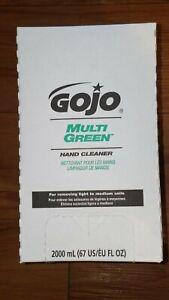 7265-2 GOJO Multi Green Hand Cleaner Sanitary Sealed for ProTDX 2000 Dispenser