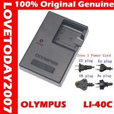 original Genuine Olympus LI-41C LI-40C Battery Charger for LI-42B LI-40B FE-360