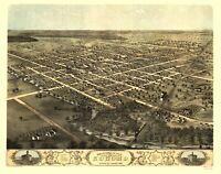 Kokomo Indiana - Ruger 1868 - 23.00 x 29.25