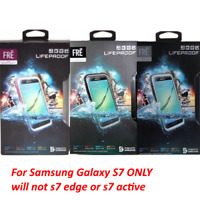 Authentic Lifeproof Case WaterProof Cover For Samsung Galaxy S7 - Retail Packing