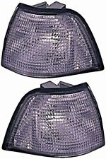 BMW 3 Series E36 Sedan Wagon Corner Lights Turn Signal SMOKE Pair 1992-1998