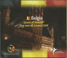 Belgien Euro Münzen Kursmünzensatz 2008 Dag van de Munt - Ehrengast