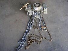 Chester Hoist Zephyr Swivel Trolley Chain Hoist 1/2 TON 8 FEET (low headroom)