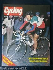 CYCLING - THE SPRING CLASSICS - APRIL 18 1981