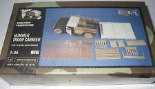 VERLINDEN 616 HUMMER TROOP CARRIER 1/35 RESIN KIT