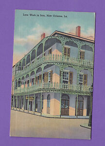 LOUSIANA LACE WORK IN IRON, NEW ORLEANS PC 594