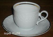 1 Kaffeetasse + Untertas Mitterteich PRINCESS GOLD  2070  Limitierte Auflage