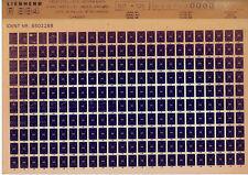 Liebherr R 984 aus 1987 Ersatzteilliste_Unterwagen_Katalog_Liste_Microfich_Fich