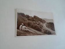 Vintage Real Photo Postcard - NOTHE GARDENS, WEYMOUTH Franked+Stamped 1943