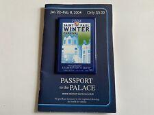 Saint Paul St Paul MINNESOTA 2004 Winter Carnival BUTTON and Passport to Palace