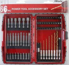 Work - 75-289 - Olympia Tools 66 PC Power Tool Accessory Drill Bit Set