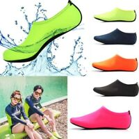 Men Women Skin Water Shoes Aqua Beach Socks Yoga Exercise Pool Swim Slip On Surf