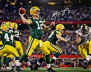 Green Bay Packers Aaron Rodgers Signed 16x20 Photo Fanatics Hologram