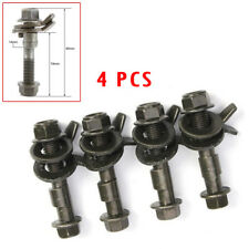 4PCS 14mm Steel Car Wheel Alignment Adjustable Camber Bolts 10.9 Intensity Novel
