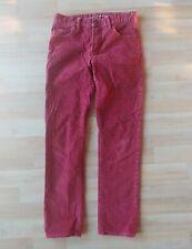 Gap Red Corduroy Pants Sportswear Slim Fit size Us Boys 12