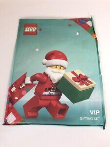 Lego Christmas VIP Gift Pack - Card, Gift Wrap and Bag, Sticker Sheet & Ribbon