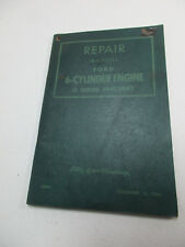 Ford 6-Cylinder Engine Repair Manual G Series 1941-1947