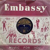 "Ambrose And His Orchestra-Cinderella Sweetheart Shellac 10"" 78 RPM.Decca F 6869."