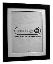 PRODIGY+FAT OF THE LAND+POSTER+AD+RARE ORIGINAL 1997+FRAMED+EXPRESS GLOBAL SHIP