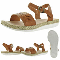 Tommy Bahama Women's Ilsa Leather Jute-Wrapped Lightweight Sandals