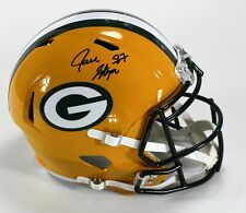 Jace Sternberger Signed Packers Full Size Speed Replica Helmet JSA Witnessed