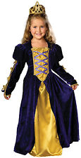 Girls Medieval Regal Queen Gown gasparilla pirate renaissance Costume small 4  6