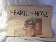 """Lot of 3 Issues of """"Hearth and Home"""" magazine 1918, 1915"""