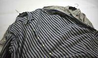 Lot of 2 Peter Millar Mens Long Sleeve Button Front Dress Casual Shirts 2XL