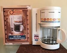 Vintage Gear Orchard Toastmaster Coffee Maker G5718 10 Cup Apple Oranges Country
