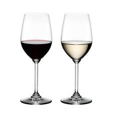 Riedel Crystal Dishwasher Safe Riesling/Zinfandel Red/White Wine Glass (2 Pack)