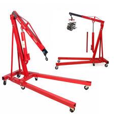 Hydraulic Engine Crane 1 Ton Tonne Folding Engine Hoist Lift Jack Lifting Mobile