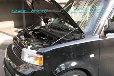 03-07 Scion xB MK1 Silver Carbon Strut Hood Shock Stainless Steel Damper