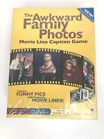 The Awkward Family Photos Movie Line Caption Game New-Sealed Box