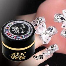 6G Che gel nail art rhinestone gel glue use for nail tips decoration jewelry HOT
