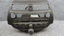 2008 2009 2010 2011 2012 Honda Accord Radio Audio Controls w/Bezel 39100-TAO-A11